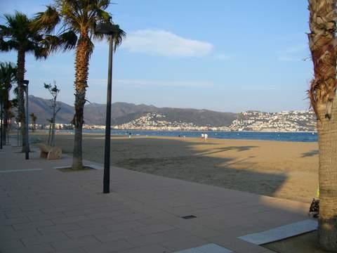 plage située à 50 m de l'appartement